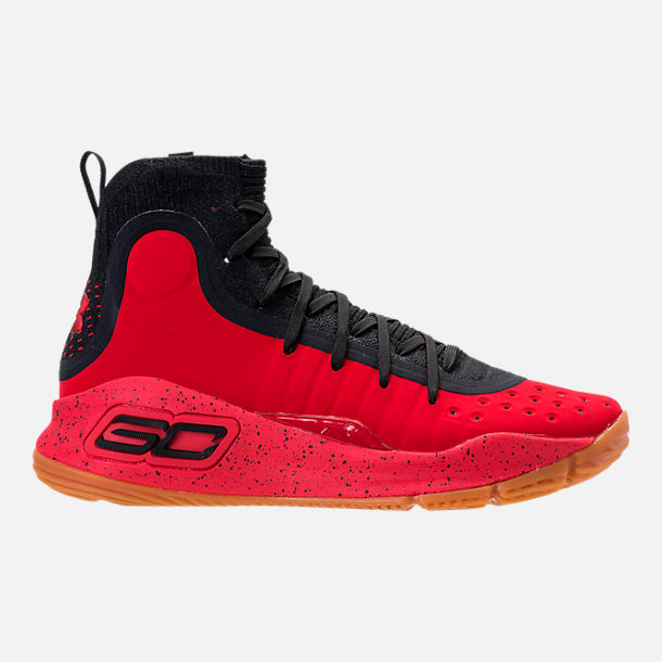 Right view of Men's Under Armour Curry 4 Basketball Shoes