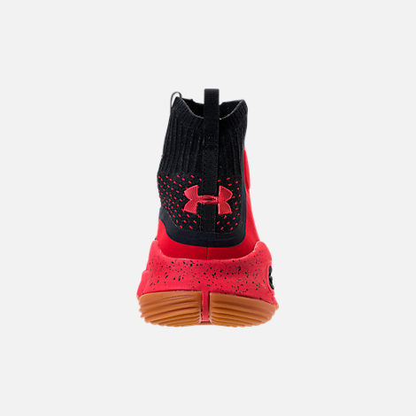 Back view of Men's Under Armour Curry 4 Basketball Shoes