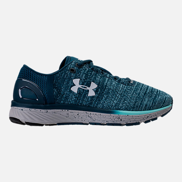 Right view of Women's Under Armour Charged Bandit 3 Running Shoes in True Ink/Blue Infinity/White