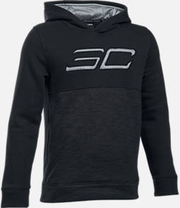 Boys' Under Armour SC30 Fleece Logo Training Hoodie