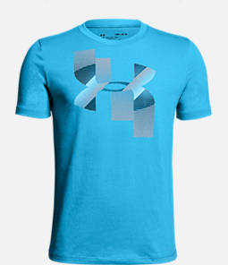 Boys' Under Armour Rapid Logo T-Shirt