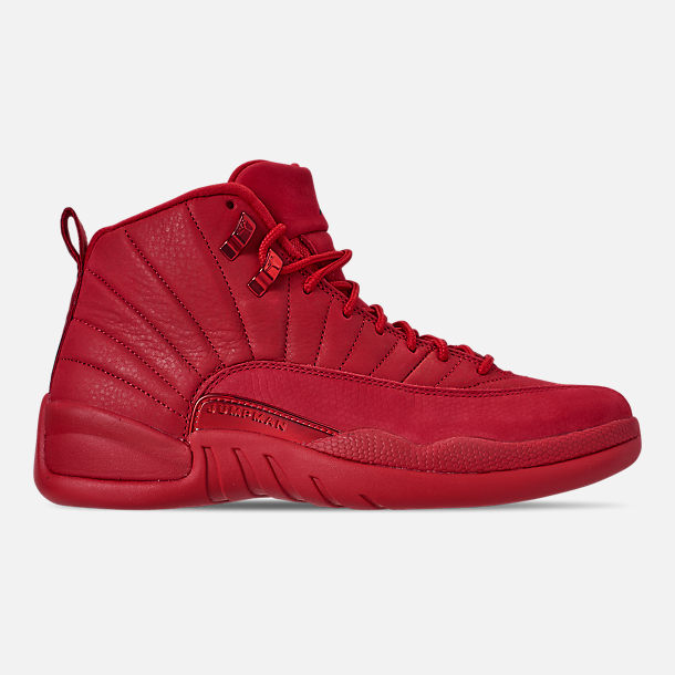 Right view of Men's Air Jordan Retro 12 Basketball Shoes