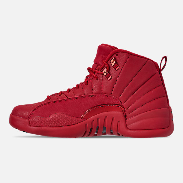 Left view of Men's Air Jordan Retro 12 Basketball Shoes