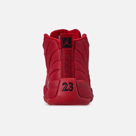Back view of Men's Air Jordan Retro 12 Basketball Shoes