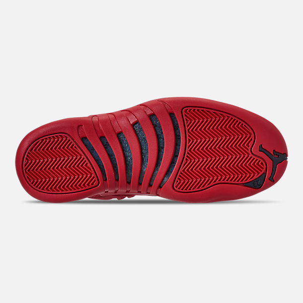 Bottom view of Men's Air Jordan Retro 12 Basketball Shoes