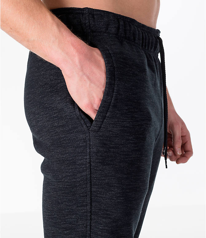 Detail 2 view of Men's Under Armour Baseline Tapered Jogger Pants in Black/Black