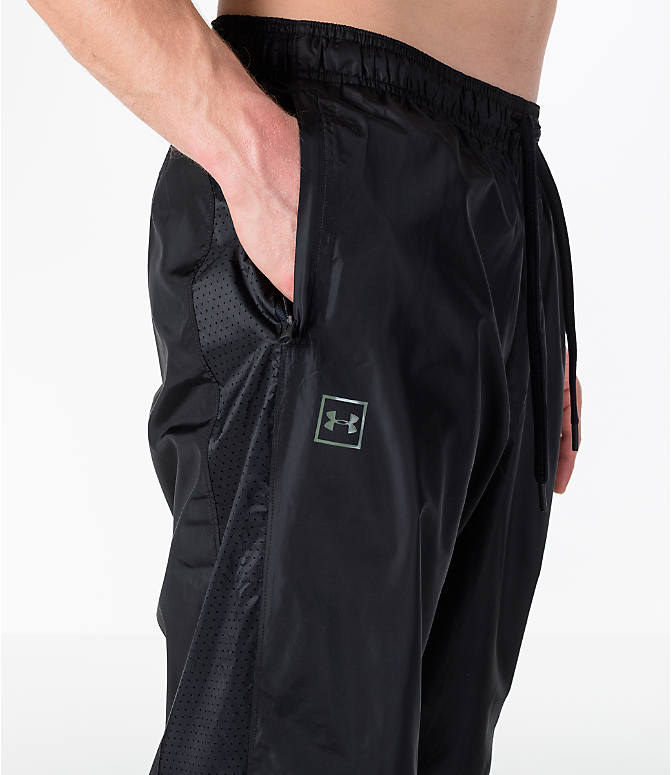 Detail 1 view of Men's Under Armour Sportstyle Wind Pants in Black