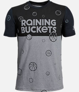 Boys' Under Armour Raining Buckets T-Shirt