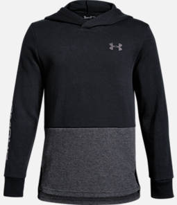 Boys' Under Armour Double Knit Pullover Hoodie