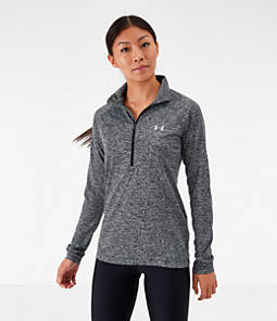 Women's Under Armour Tech Twist Half-Zip Long-Sleeve Training Top