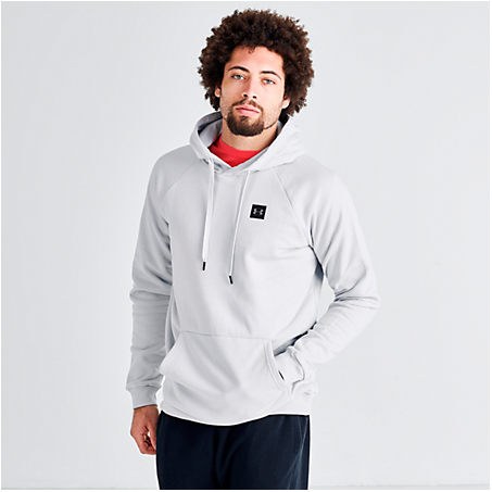 Under Armour Tops UNDER ARMOUR MEN'S RIVAL FLEECE PULLOVER HOODIE SIZE X-LARGE COTTON/POLYESTER/FLEECE
