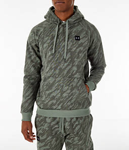 Men's Under Armour Rival Fleece Camo Hoodie