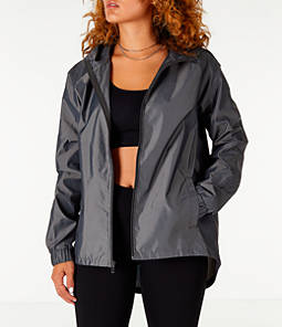 Women's Under Armour Iridescent Woven Hooded Wind Jacket