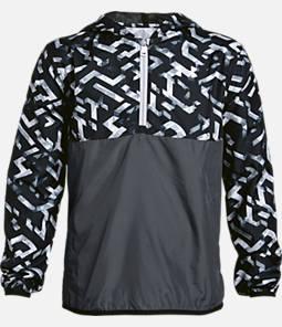 Boys' Under Armour Sackpack Half-Zip Packable Jacket