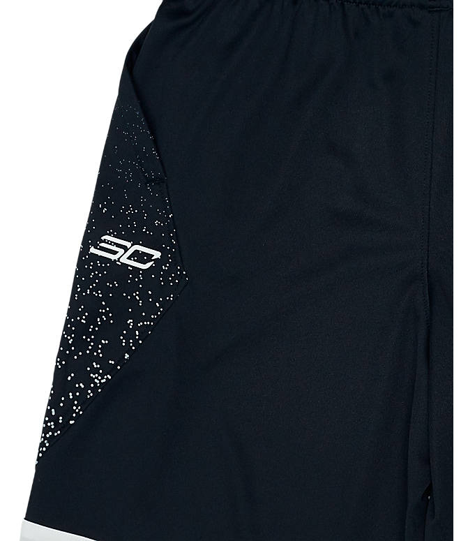 Product 4 view of Boys' Under Armour SC30 Basketball Shorts in Black/White