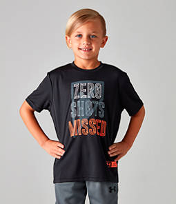 Boys' Under Armour SC30 Zero Shots Missed T-Shirt