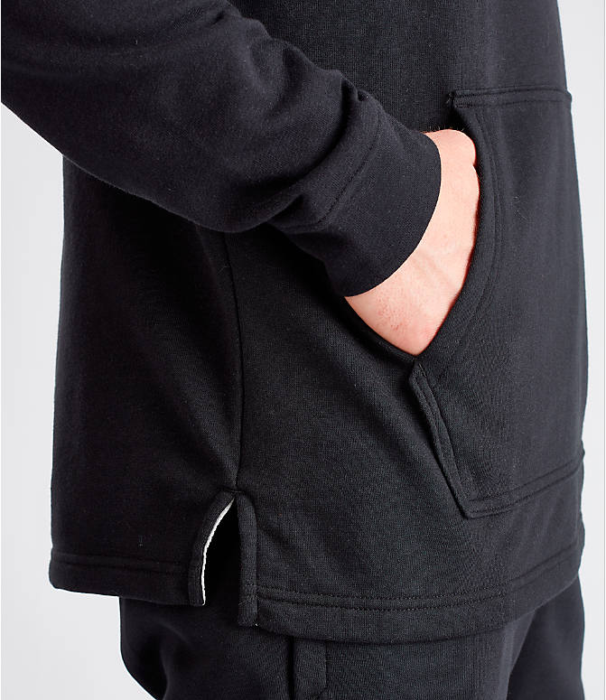 Detail 2 view of Men's Under Armour Sportstyle Terry Hoodie in Black
