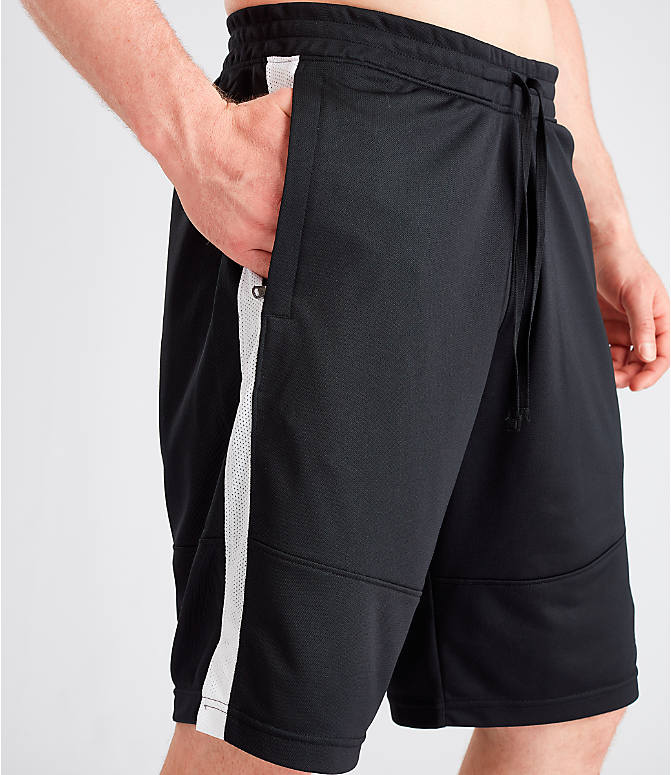 Detail 2 view of Men's Under Armour Sportstyle Pique Shorts in Black