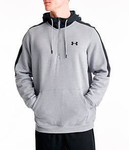 Men's Under Armour Microthread Fleece Half-Zip Hoodie