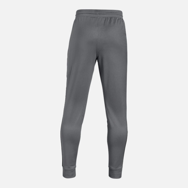 Back view of Boys' Under Armour Pennant Tapered Jogger Pants in Graphite