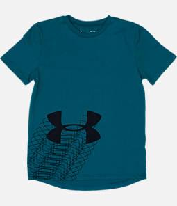 Boys' Under Armour Linear Logo T-Shirt