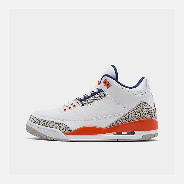 lowest price 3e256 72d70 Men's Air Jordan Retro 3 Basketball Shoes| Finish Line