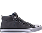 Men's Converse Chuck Taylor All-Star Street Mid Casual Shoes