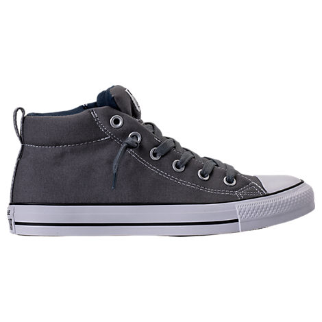 Converse  MEN'S CHUCK TAYLOR ALL-STAR STREET MID CASUAL SHOES, GREY