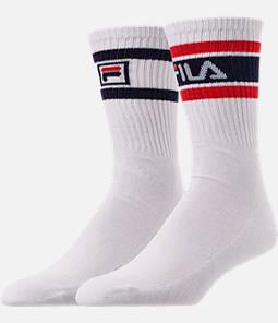 Unisex Fila 2-Pack Logo Tube Crew Socks