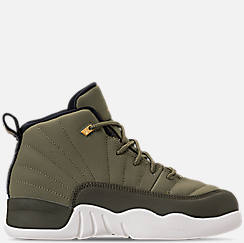 Little Kids' Air Jordan Retro 12 Basketball Shoes