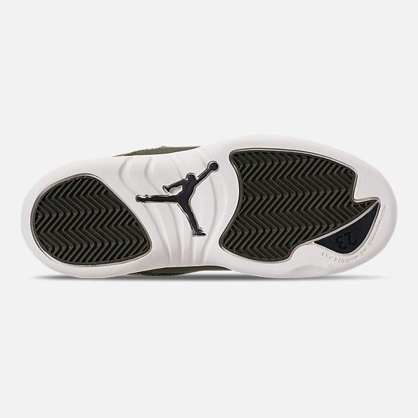0acc1f7d9aa Bottom view of Little Kids  Air Jordan Retro 12 Basketball Shoes