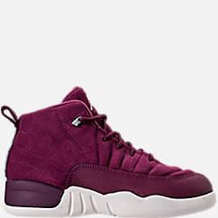 Kids' Preschool Air Jordan Retro 12 Basketball Shoes