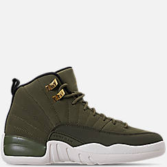 Kids' Grade School Air Jordan Retro 12 Basketball Shoes