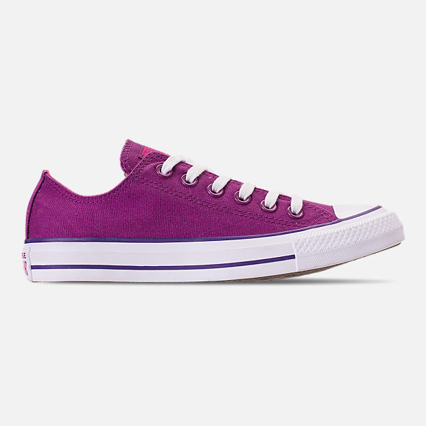 bd4a58f39b1d7d Right view of Women s Converse Chuck Taylor All Star Seasonal Ox Casual  Shoes in Icon Violet