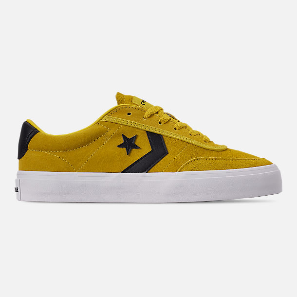 Right view of Men's Converse Courlandt Casual Shoes in Vivid Sulfur/White/Black