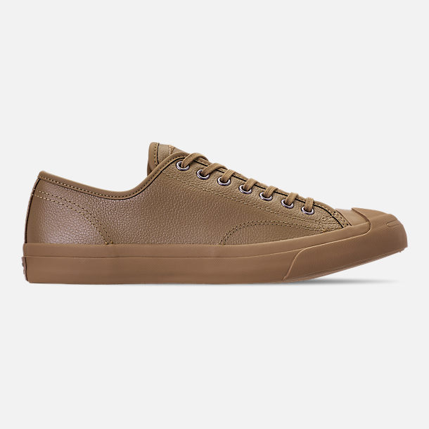 b5c19bba2813a5 Right view of Men s Converse Jack Purcell Desert Storm Leather Low Top  Casual Shoes in Teak