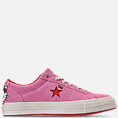 Women's Converse One Star Ox Hello Kitty Casual Shoes