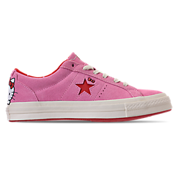 Image of WOMEN'S CONVERSE ONE STAR OX HELLO KITTY
