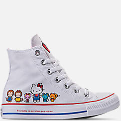 Women's Converse Chuck Taylor All Star Hello Kitty High Top Casual Shoes