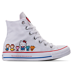 Image of WOMEN'S CONVERSE CTAS HI HELLO KITTY