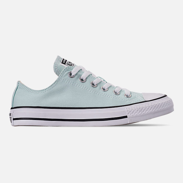 Right view of Women's Converse Chuck Taylor All Star Low Top Casual Shoes in Teal Tint