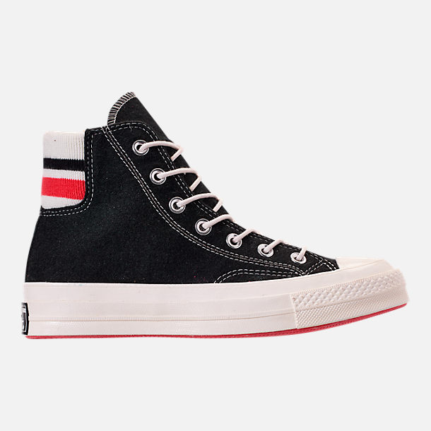 663404d8ea1 Right view of Unisex Converse Chuck Taylor All Star 70 High Top Casual Shoes  in Black