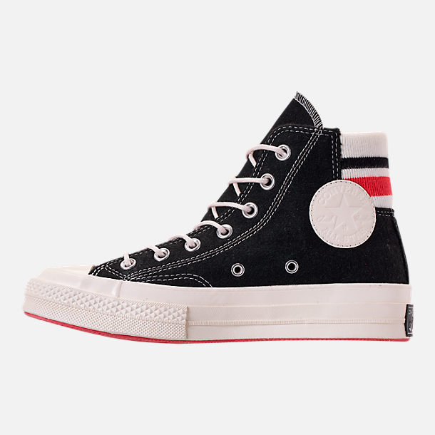 cd452ff53cef4d Left view of Unisex Converse Chuck Taylor All Star 70 High Top Casual Shoes  in Black