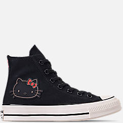 0ed3797d8fbd35 Women s Converse x Hello Kitty Chuck Taylor 70 High Top Casual Shoes
