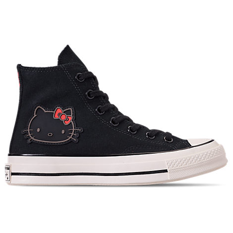Women'S X Hello Kitty Chuck Taylor 70 High Top Casual Shoes, Black