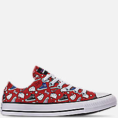 8164c7a4098b Women s Converse x Hello Kitty Chuck Taylor All Star Low Casual Shoes