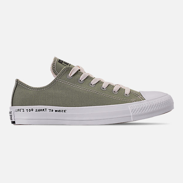 946c4d71f3b9 Right view of Women's Converse Chuck Taylor All Star Renew Low Top Casual  Shoes in Jade