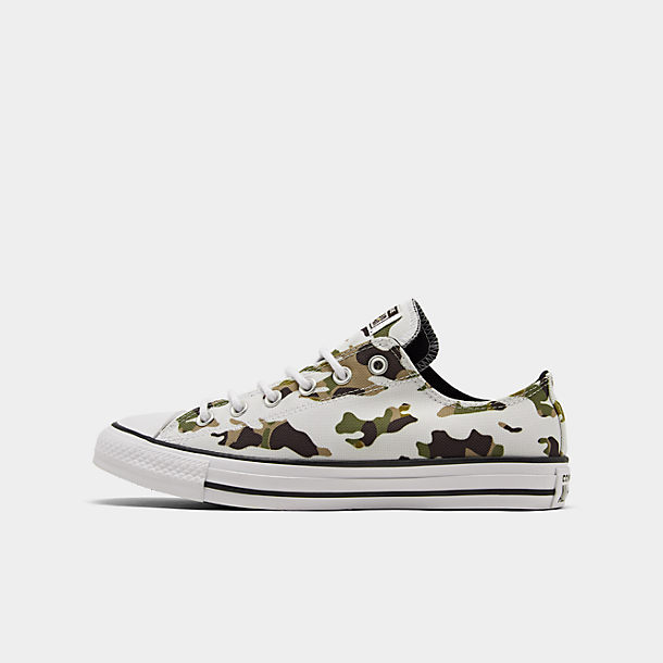 Men's Converse Chuck Taylor All Star Allover Camo Low Top Casual Shoes