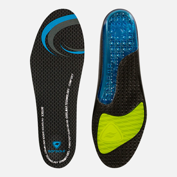 Front view of Women's Sof Sole Airr Insole in W 5-7.5