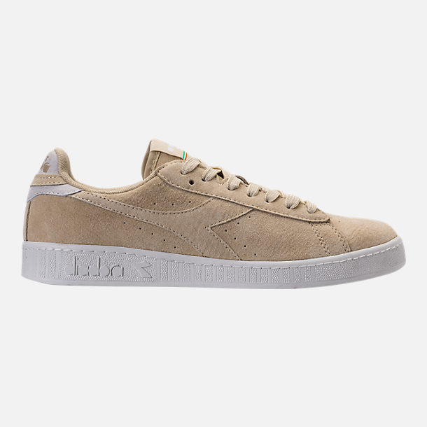 Right view of Men's Diadora Game L Low Casual Shoes in Beige Bleached